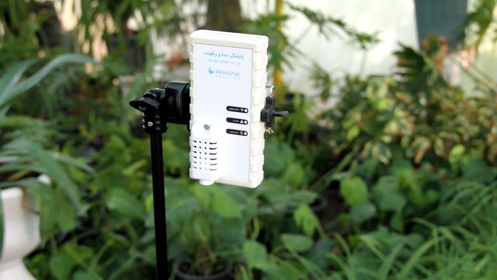 سنسور دما و رطوبت گلخانه پاناک
